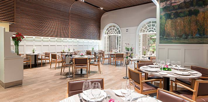 Restaurant Jardín du Recoletos Madrid. Restaurant