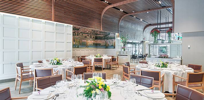 Restaurant Jardín du Recoletos Madrid. Banquet